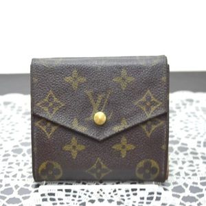 Auth Louis Vuitton Small Wallet